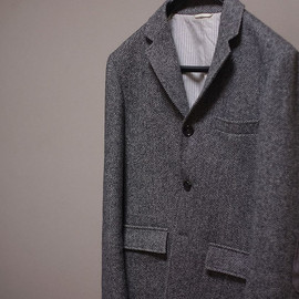 THOM BROWNE - Herringbone Tweed JACKET