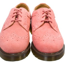 Dr.Martens - Dr. Martens 3989 Hi WP Womens Faded Rose Pink Suede Shoes
