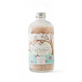 hand in hand - WHITE TEA BATH SALT