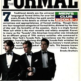 婦人画報社書籍編集部 - THE FORMAL WEAR: MEN'S CLUB BOOKS 7