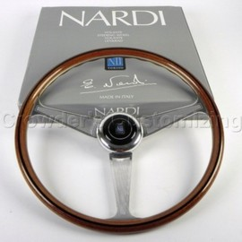 Nardi - Personal Steering Wheel - Anni 60 - 380 mm Wood