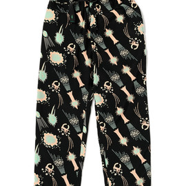 bal, WILD THINGS - No T.V. Sketch RAYON CLIMBING PANT by WILD THINGS