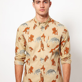 ASOS - Shirt With Animal Print
