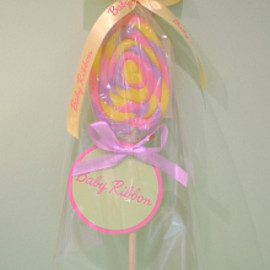 Baby Ribbon - Egg Twist Lollipop