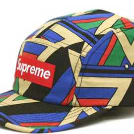 Supreme  - Geometric Camp Caps