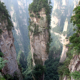 Zhangjiajie National Forest Park, China - 'Tianzi Mountains' (Avatar Hallelujah Mountain)