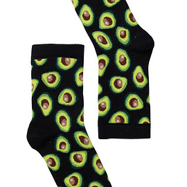 Monki - Polly Sock Avocado