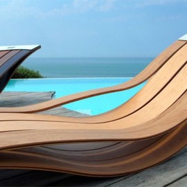 Pooz Design - Wood Lounge Chairs
