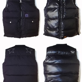 UNRIVALED - UNRIVALED×M&M RV-DOWNVEST BLACK