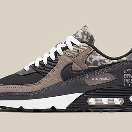 NIKE - Air Max 90 SE - Enigma Stone/Off Noir/Iron Grey/White