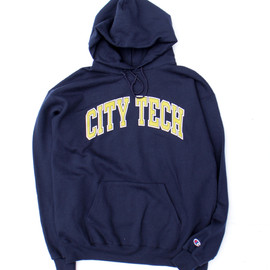 Champion - Sweat Hoodie (New York City College of Tech.)