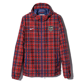 F.C.R.B. - FCRB-FIVE CHECK WARM UP JACKET