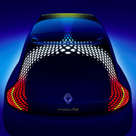 Ross Lovegrove for Renault - Twin'Z concept car by Ross Lovegrove for Renault
