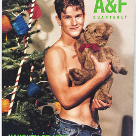 "Abercrombie & Fitch - A&F Quarterly, Christmas, 1999 ""NAUGHTY OR NICE"""