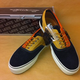 VANS - 【VANS VAULT】 ERA LX SUEDE & TWILL CANVAS (BLACK)