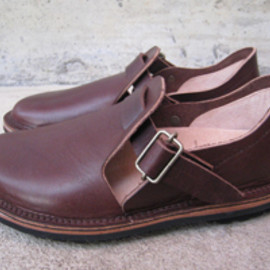 forest shoemaker - strap cut type brown