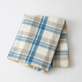 MARGARET HOWELL - LARGE CHECK BLANKET