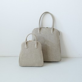 evam eva - linen handle bag