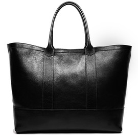 Lotuff Leather - Leather Working Tote Black