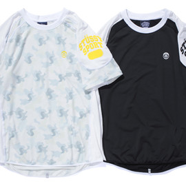 STUSSY SPORT by ONEHUNDRED ATHLETIC - Workout H/S Top