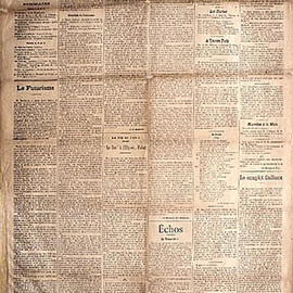Le Figaro - Manifesto of Futurism Written by Filippo Tommaso Marinetti, February 20, 1909