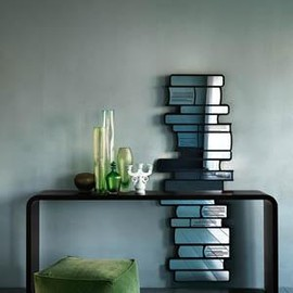 Paola Navone - Book Mirror 本の形の鏡