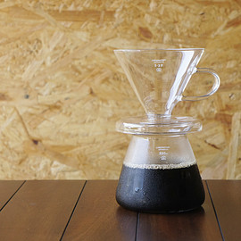 PUEBCO - GLASS COFFEE DRIPPER SET