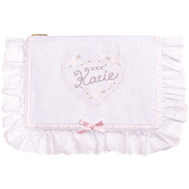 Katie - 画像2: COTTON LACY clutch bag