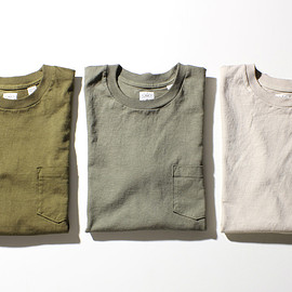 "ANATOMICA - Pocket Tee ""Tactical Color Collection"""