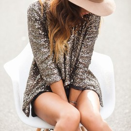 Sequin Jacket style
