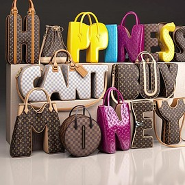 LOUIS VUITTON - HAPPINESS CAN'T BUY MONEY Bags