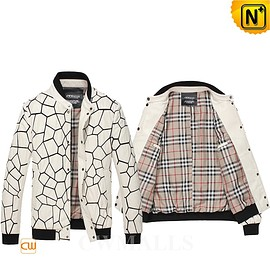 CWMALLS - Custom Leather Jacket & Leather Shoes | CWMALLS® Rome Quilted Leather Bomber Jacket CW806056