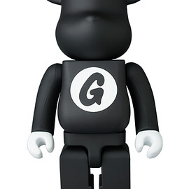 MEDICOM TOY - BE@RBRICK GOODENOUGH BLACK 400%