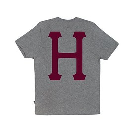 HUF - CLASSIC H POCKET TEE (Gray Heather)
