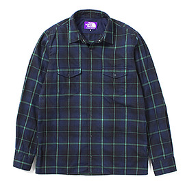 THE NORTH FACE PURPLE LABEL - THERMOLITE® Flannel Check Shirt