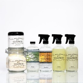 Mrs. Jones' Soapbox - Eco-Friendly Household Cleaning Kit