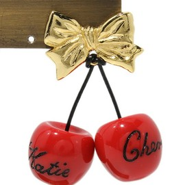 Katie - CHERRY BOW 1piece pierce