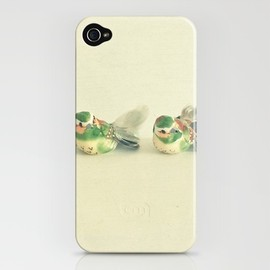 Five Little Birds iPhone Case