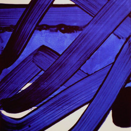 Pierre Soulages - Composition, 1988