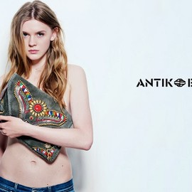 Antik Batik★Zanon knitted-cotton cardigan 1