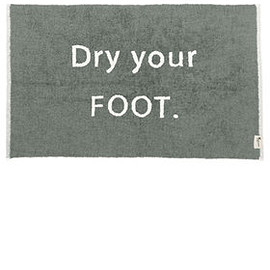 kashwere - BATH MAT / DRY YOUR FOOT