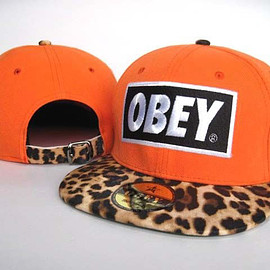 OBEY - Casquette Pas Cher-Obey Leopard Snapback