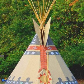 "TIPI - 18ft ""Ceremonial Tipi"""