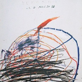 Cy Twombly - Galerie Greve, 1984, ポスター