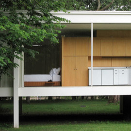 Mies van der Rohe - Farnworth House, Illinois, ca 1951