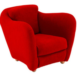 IDEE - MINI MILLER ARM CHAIR RED