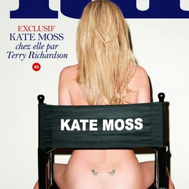 Lui Magazine - Kate Moss Poses Nude for LUI Magazine Shot by Terry Richardson