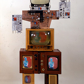 Nam June Paik - Uncle 1986
