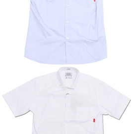 WTAPS - WTAPSPLAINS/SSHIRTS.COTTON.OXFORD.THOMASMASON(半袖シャツ)215-001188-000-【新品】【smtb-TD】【yokohama】