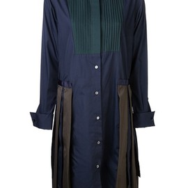 sacai - Poplin Shirt Dress
